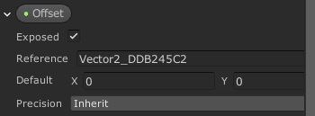 Getting the Offset property identifier from shader