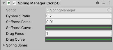 Spring Manager Settings