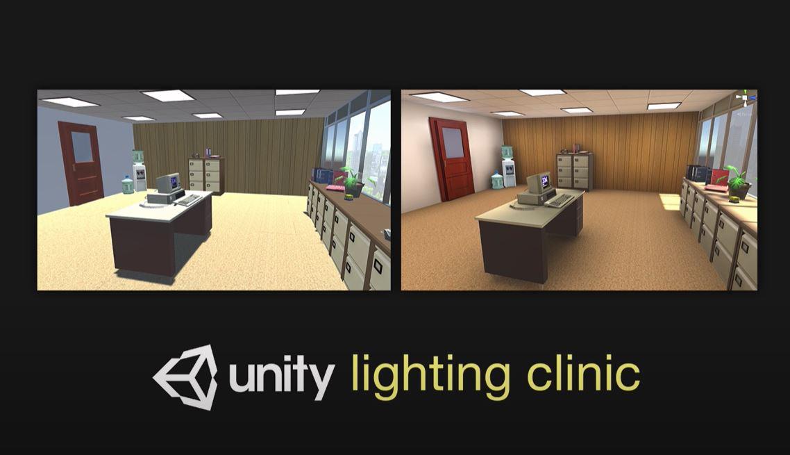 lighting clinic display